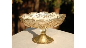 Image of a Gold Mercury Compote