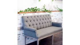 Image of a Grey Estate Settee