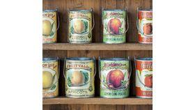 Image of a Vintage Fruit Tins