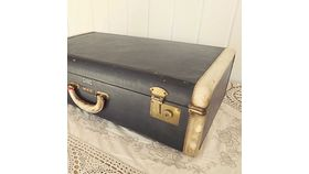 Image of a Navy Suitcase