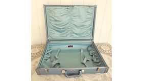 Image of a Powder Blue Suitcase