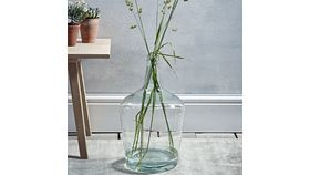 Image of a Clear Demijohn 15""