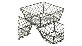 Image of a Mini Wire Baskets