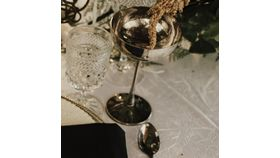 Image of a Aged Silver goblets