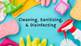Image of a Sanitize Cleaning