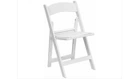 Image of a Folding Chairs - White