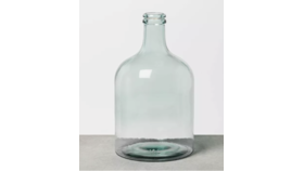 Image of a XL Clear Seaglass Vase