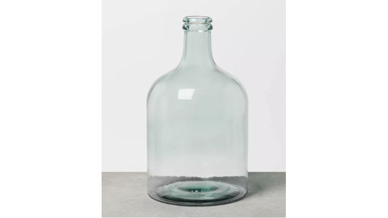 Picture of a XL Clear Seaglass Vase