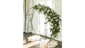 Image of a Circular Wedding Arbor