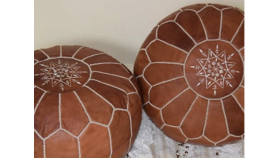 Image of a Moroccan Pouf