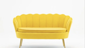 Image of a Tuxedo Seat - Canary