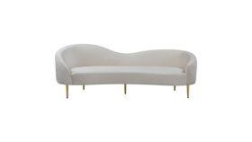 Image of a Curves Ahead Curvy Sofa