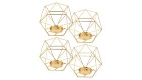 Image of a Mini Geometric Tealight Lanterns
