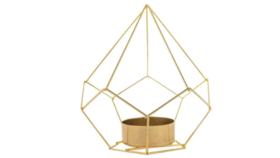 Image of a Mini Pyramid Tealight Lantern