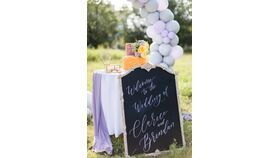 Image of a Vintage Style Chic Tall Chalkboard