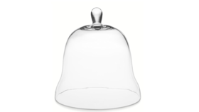 "Image of a 11.75"" Glass Bell Cloche"