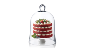 """11.75"""" Glass Bell Cloche image"""