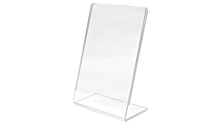 Picture of a Acrylic Sign Holder