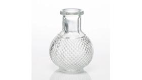 Image of a Round Perfume Bottle Bud Vase
