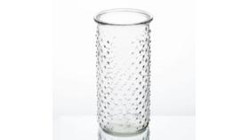 Image of a Dotted Cylinder Vase