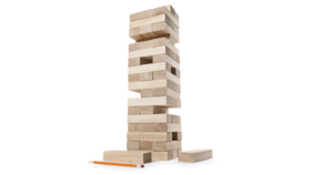 Image of a Giant Stacking Tower