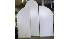 Image of a Arched Wall Panel Trio