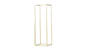 """Image of a 24"""" Gold Riser/Flower Stand"""