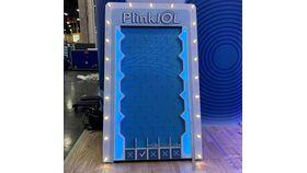 Image of a Custom Plinko Border with Graphics and Lights