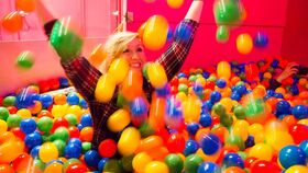 Image of a Ball Pit, Everblocks