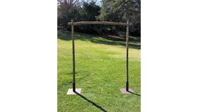 Image of a Arch, Rustic Cedar 5' W x 6' 1/2 H