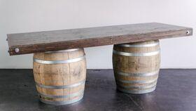 """Image of a Bar, Wine Barrel - Pueblo Top 40"""" x 8'"""