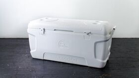 Image of a Cooler, White 150 Can