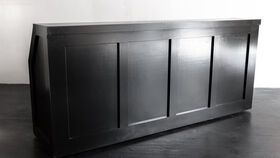 Image of a Bar, Black 8'