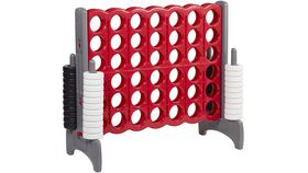 Image of a Giant Connect Four - Red and Gray