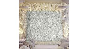 Image of a 8 x 12 Flower Wall