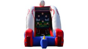 Image of a Baseball Inflatable (includes staff attendant)