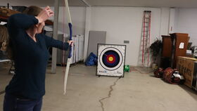 Image of a Stick It - Archery Game