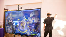 Image of a Virtual Reality