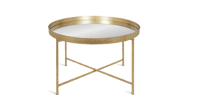 Image of a Brushed Gold Coffee Table (qty-2)