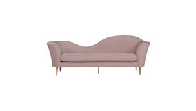 Image of a Lounge-Olivia Blush Velvet