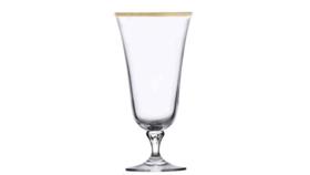 Image of a Glassware-Charlotte Gold Rim Water/All Purpose Drinkware