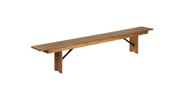 Picture of a 8 ft Farm Bench Folding