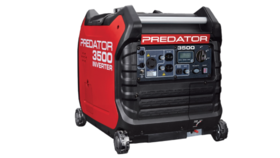 Image of a 3500 Watt Generator, Predator Inverter, super quiet, gasoline