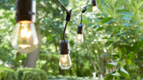 Image of a 48ft String Lights - Bistro Style 264 Watts
