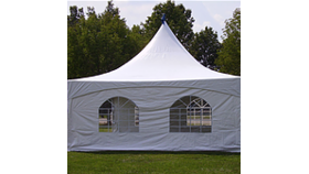 Image of a 'Tent Side Wall 20'x9' Window (35'x40' High Peak Hexagon tent)