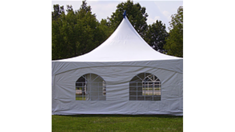 Picture of a 'Tent Side Wall 20'x9' Window (35'x40' High Peak Hexagon tent)