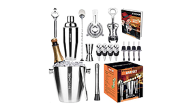 Image of a 17 Pieces Bartender Kit
