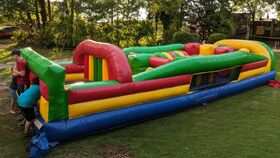 Image of a 31ft Obstacle Course