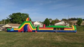 Image of a 55ft Obstacle Course