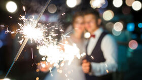 Image of a Large Sparklers - 20in - 5 pack
